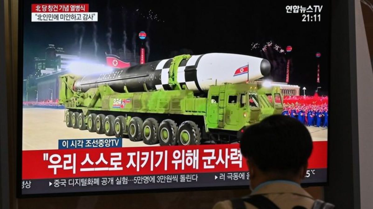 Nothern Corean Missile