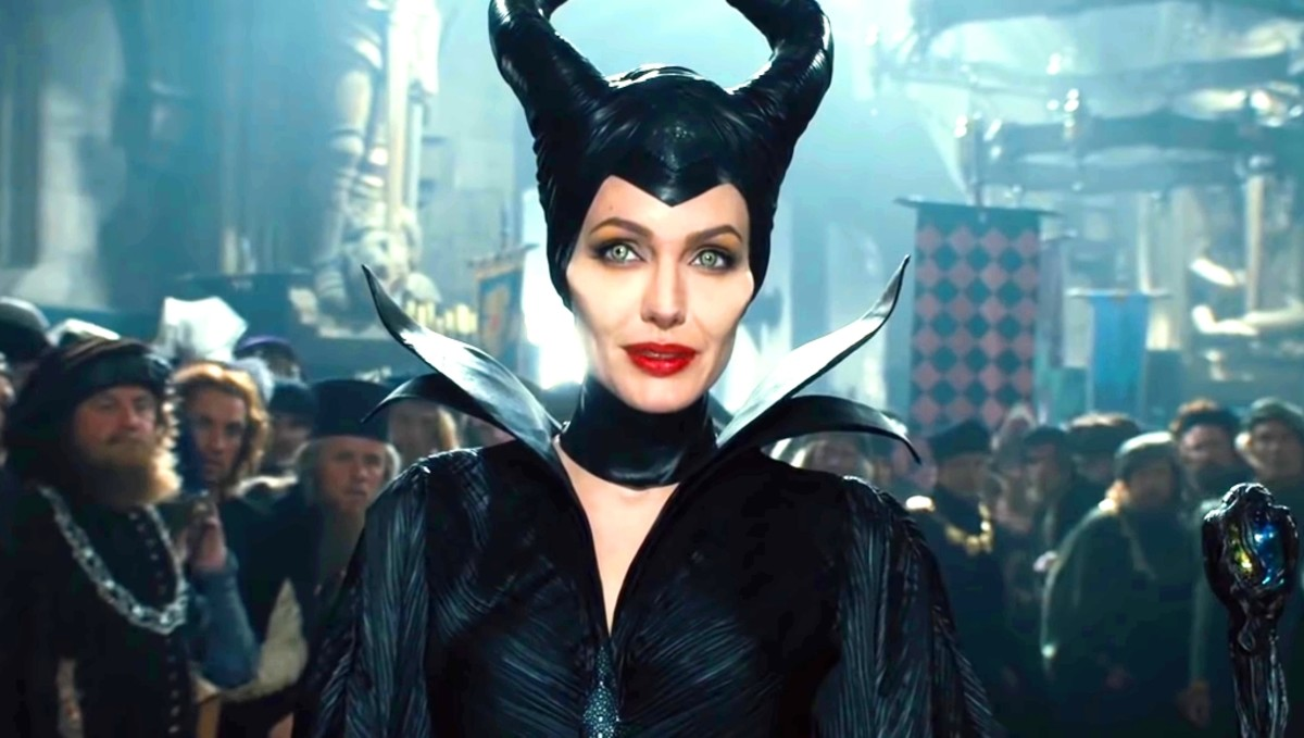 Maleficent also goes there.