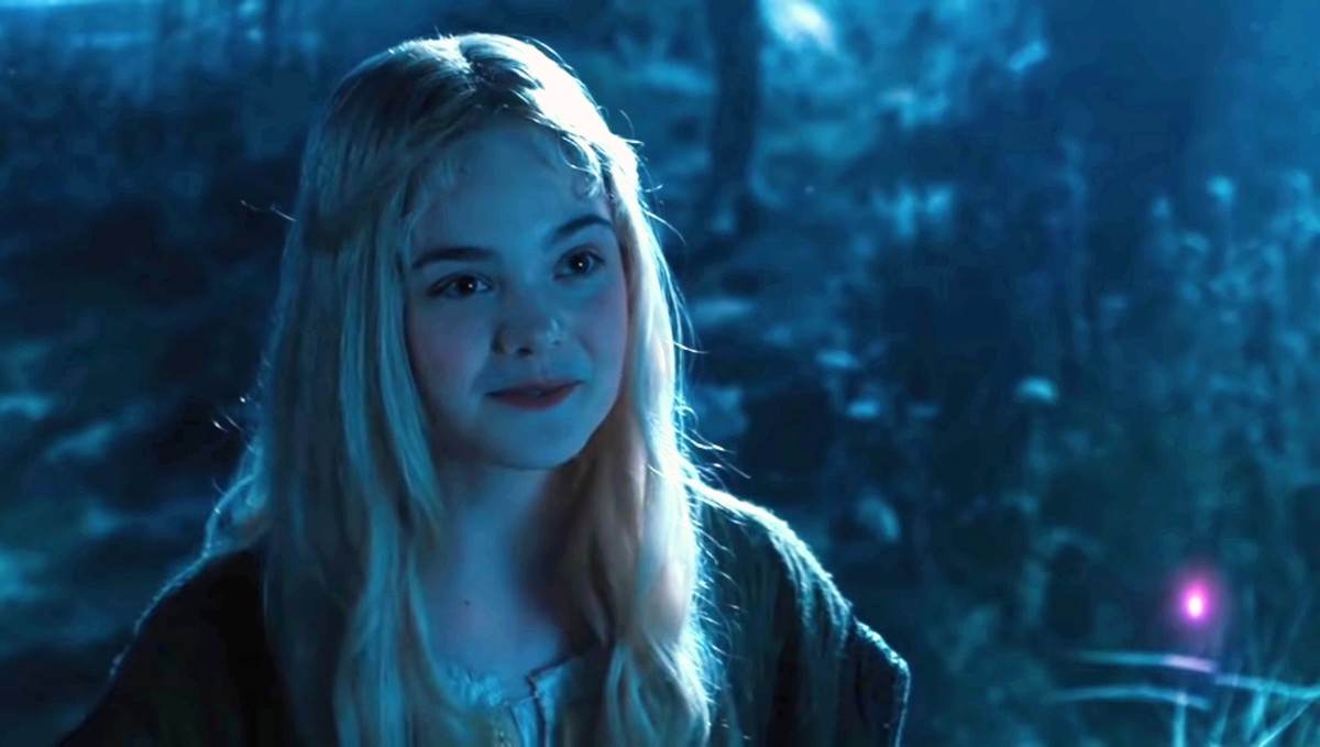 Princess Aurora screams after seeing her and says that you are the one who takes care of me from my childhood