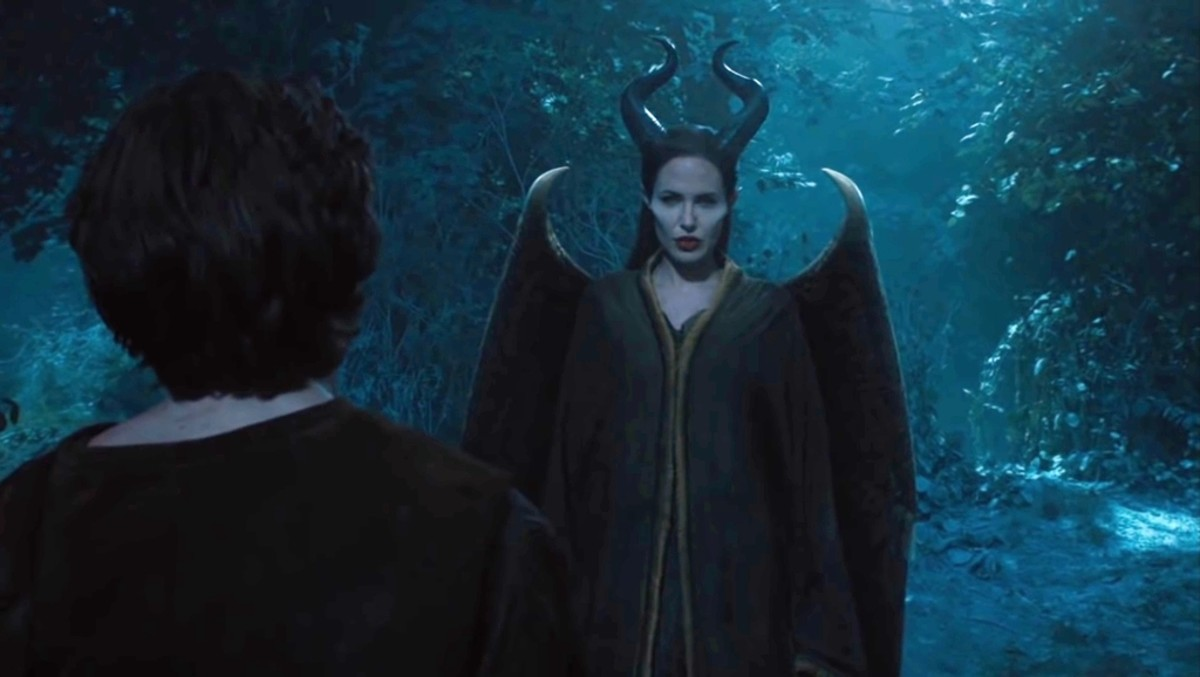 Maleficent asks him that where were you for many years?