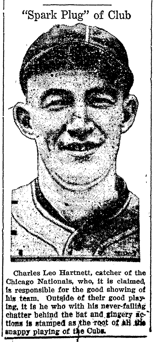 Hall of Famer Gabby Hartnett has the second-highest caught stealing percentage in Major League history.