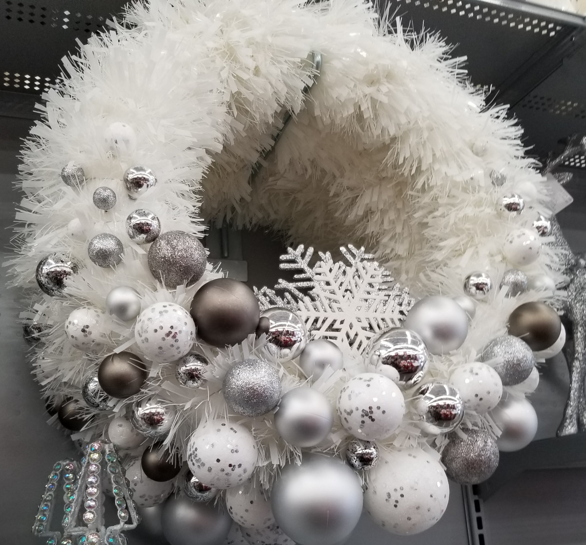 You can probably find a wreath to fit any budget or make your own. If you use one with artificial items, reuse it for years to come.