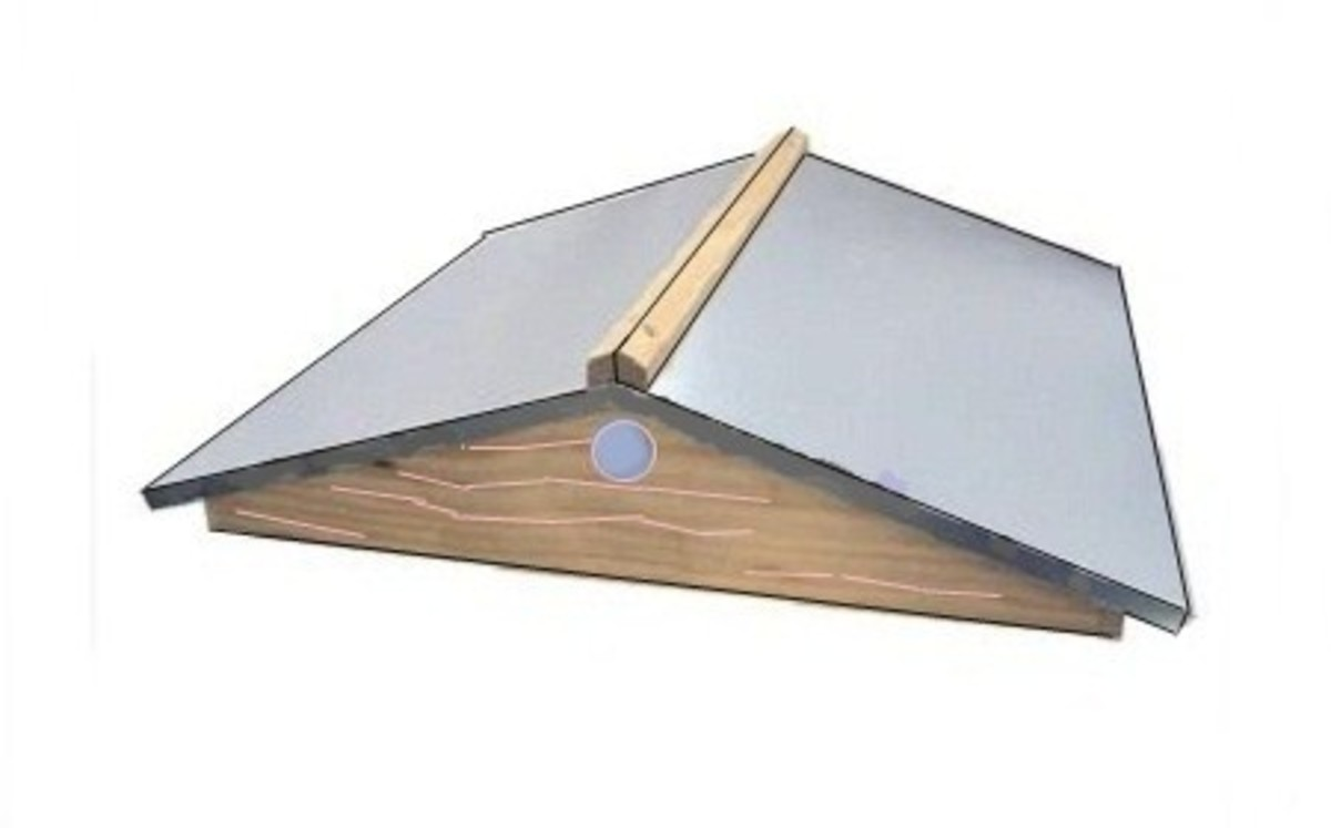 Pitched Beehive Roof