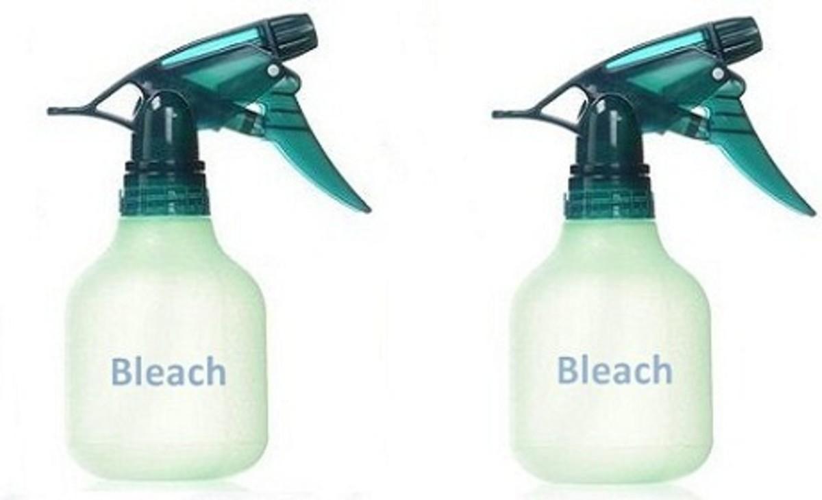 Spray Bottles for Bleach