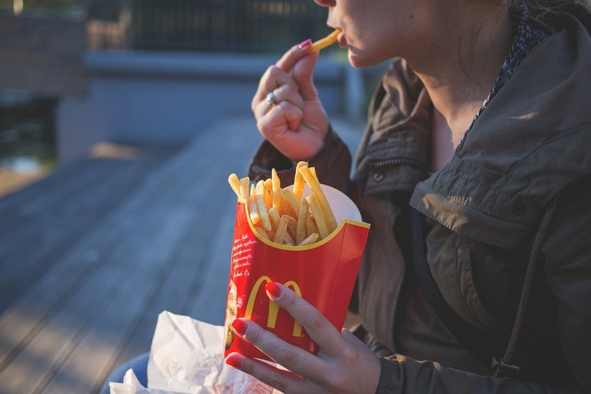 Be careful with the fast food. Stay within carb and portion control limits.