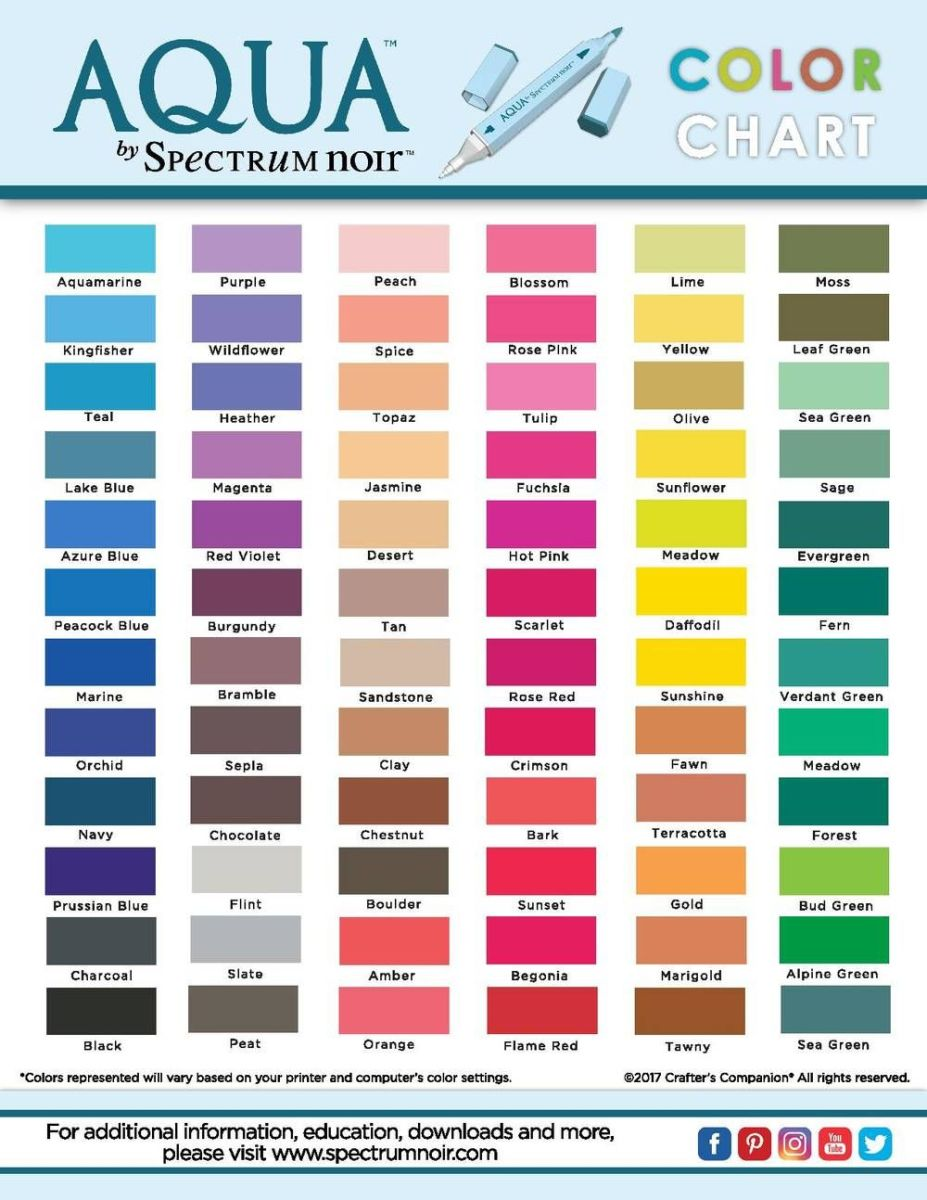 They have just about every color that you need in this color range