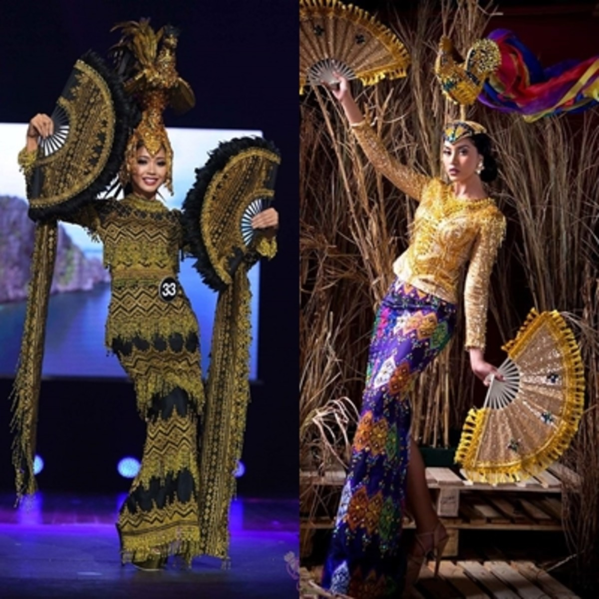 A popular favorite choice for National Costume by Filipino Beauty Pageant contestants.