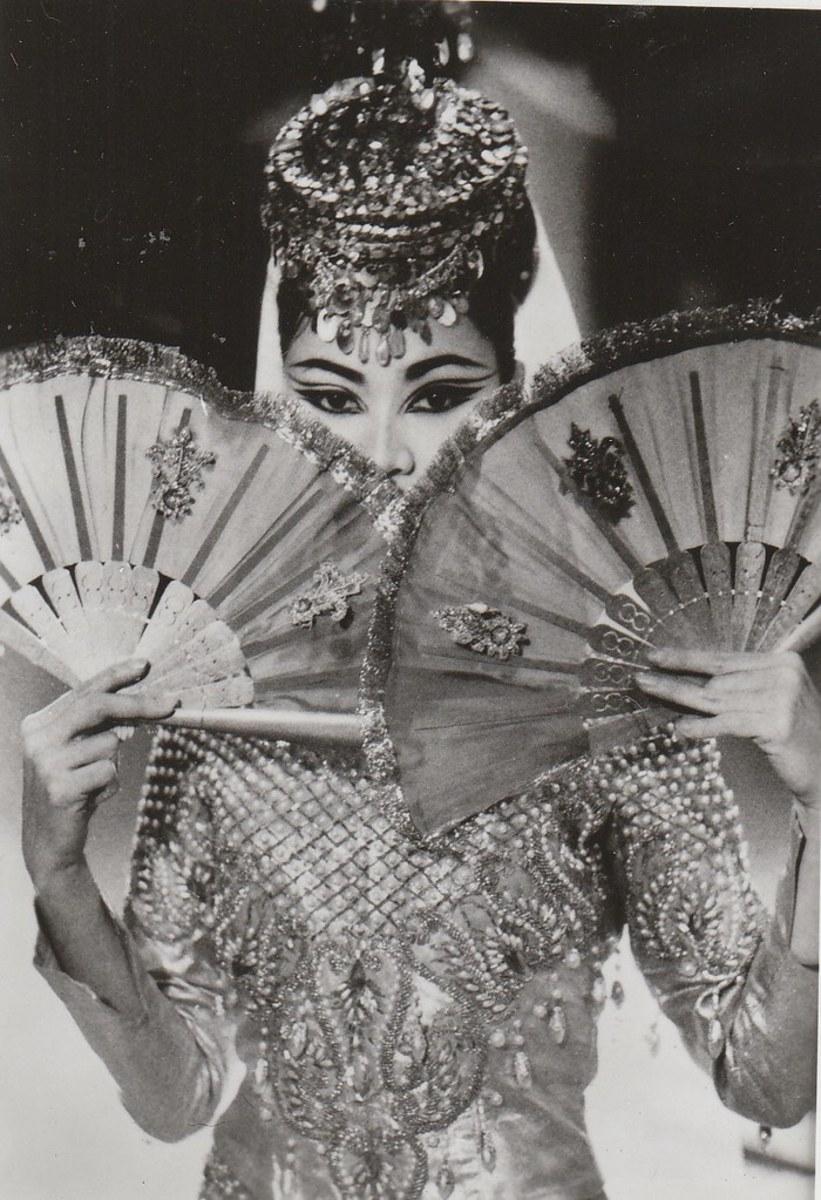 Bayanihan Dance Company's Singkil Princess in the 1960's
