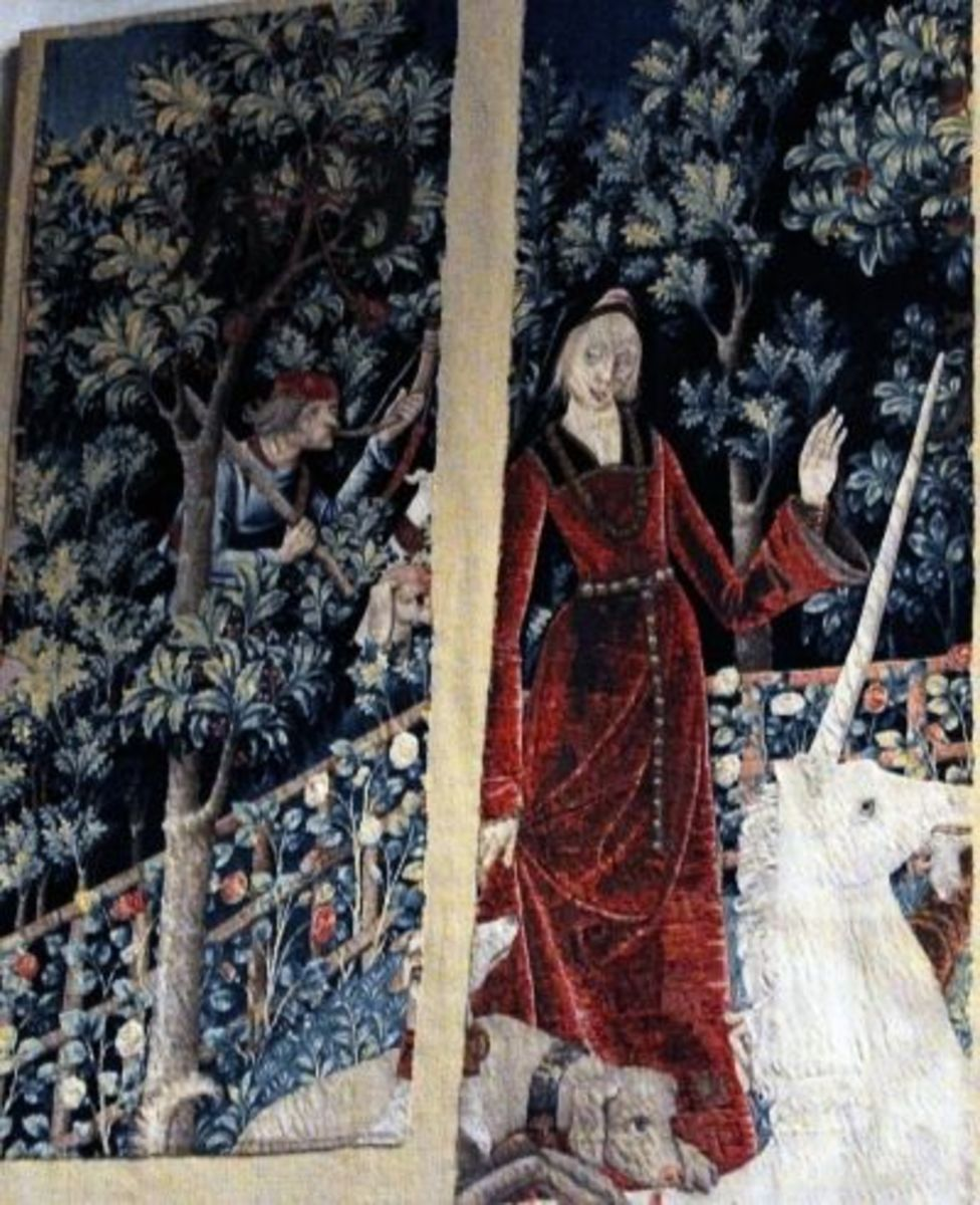 The Lost Unicorn Tapestry