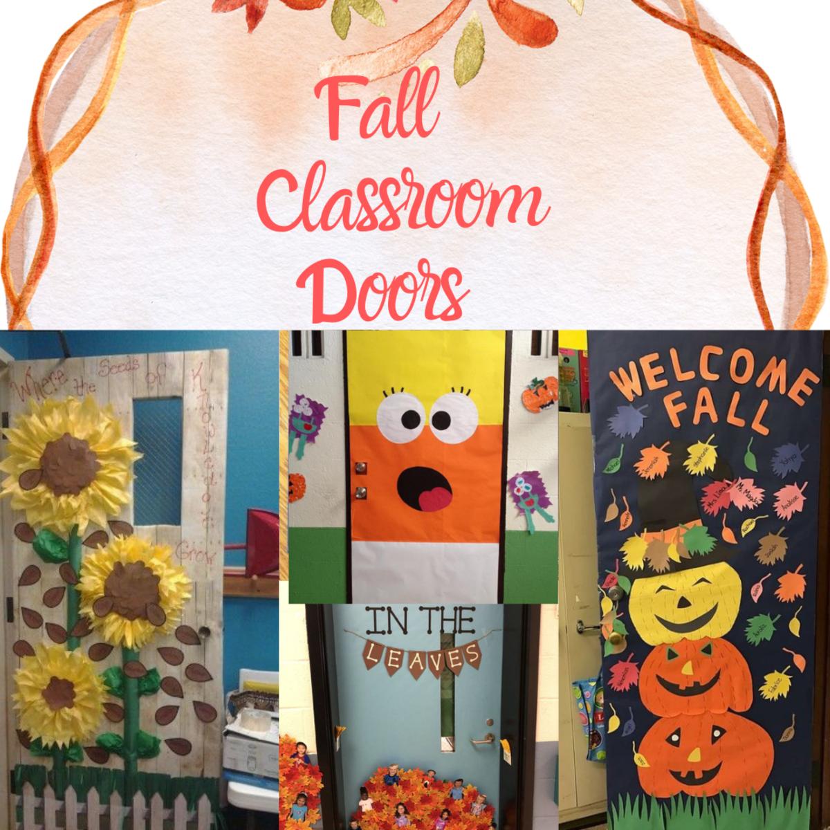 Fall Classroom Door Ideas