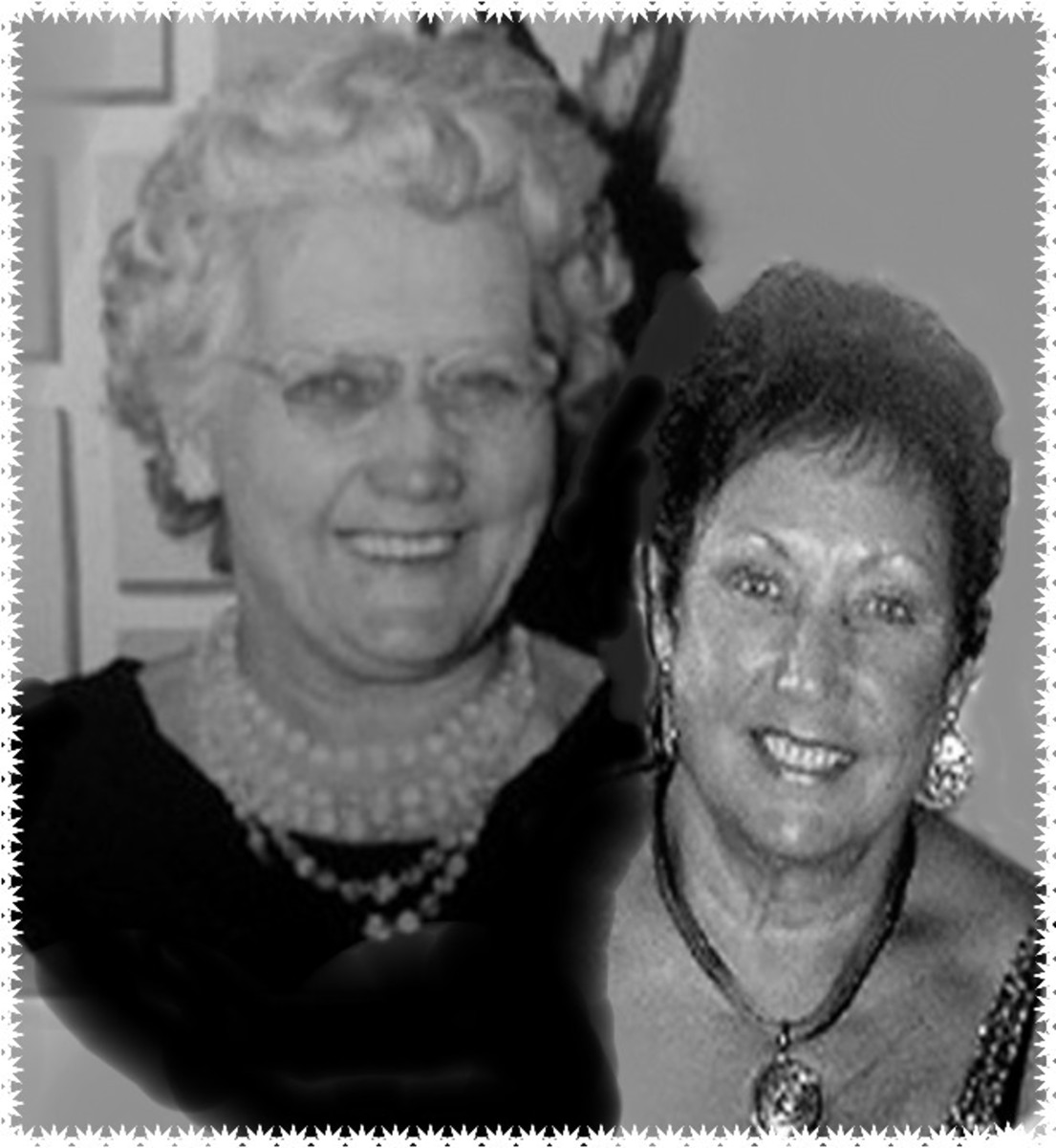Me and My beautiful Mam who lived always caring  to be 92yrs old