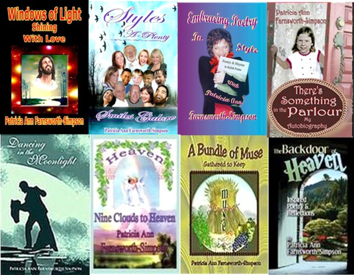 My Poetry Books, Spiritual, Fun and very Stylish