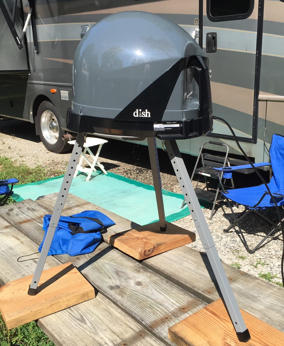 How Your Satellite TV Works in Your RV and How to Set It up Properly.