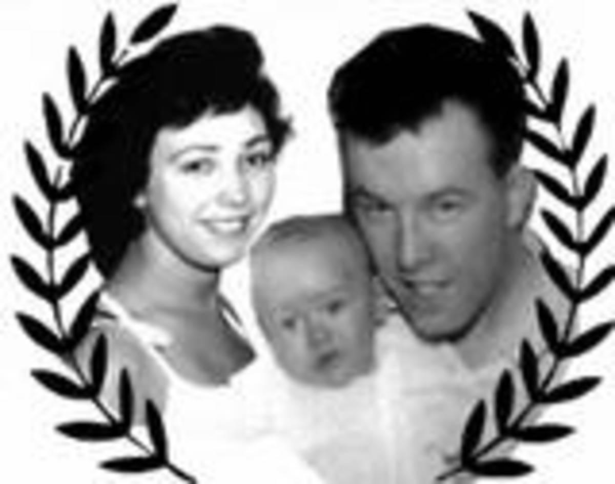 Me, Harold & baby son Robert