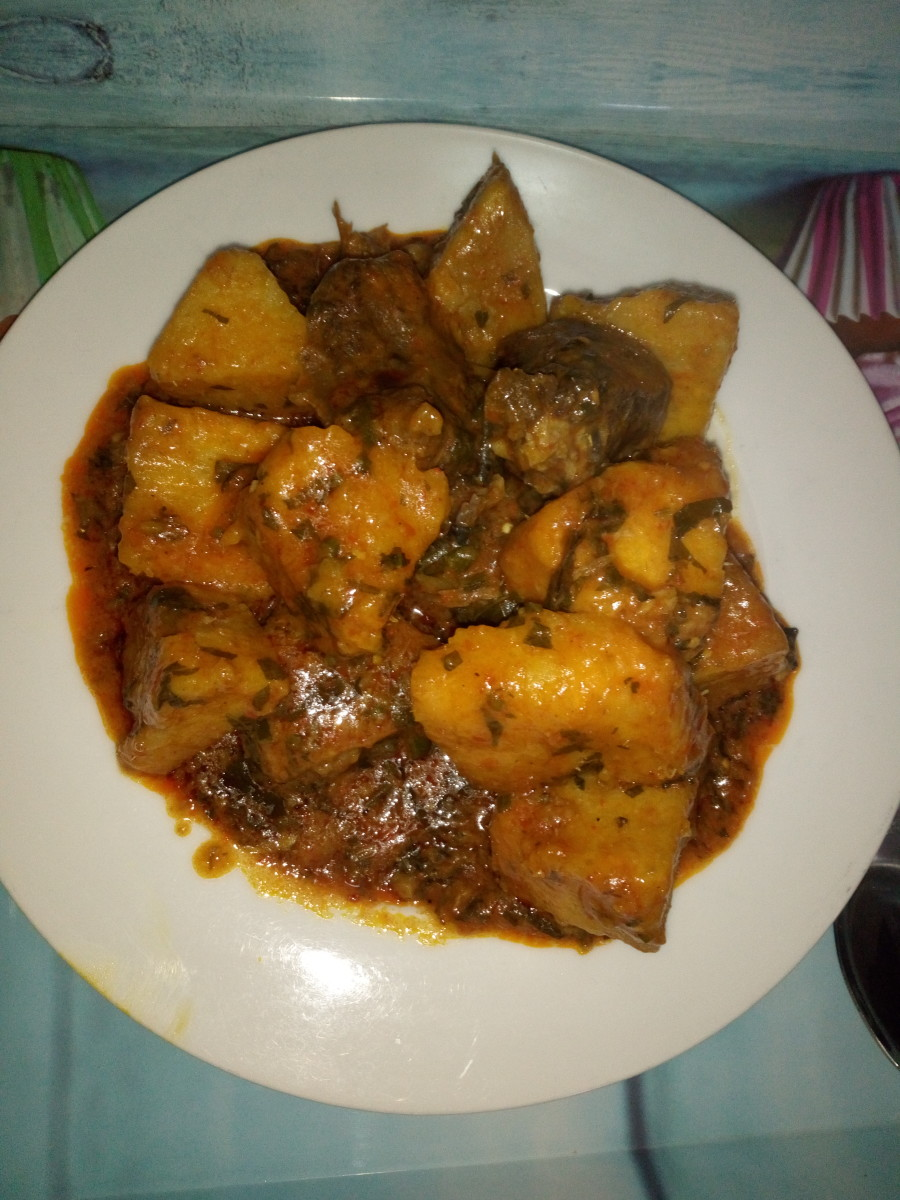 How to Cook Yam Porridge\Pottage
