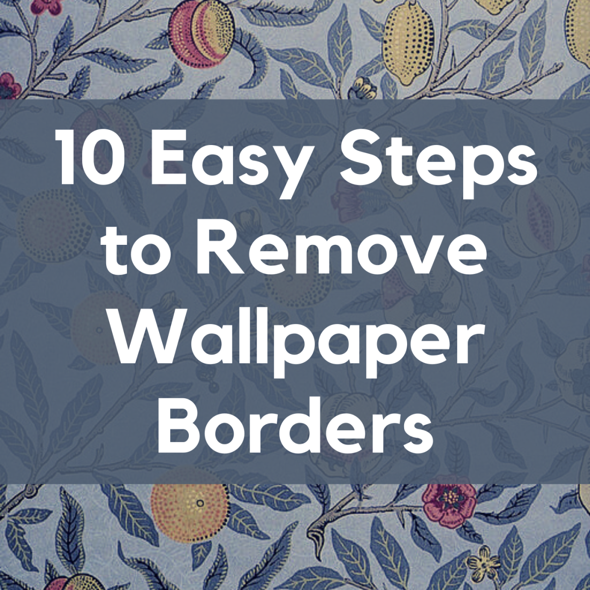 Does your house have outdated wallpaper borders? Learn how to remove them the easy way!