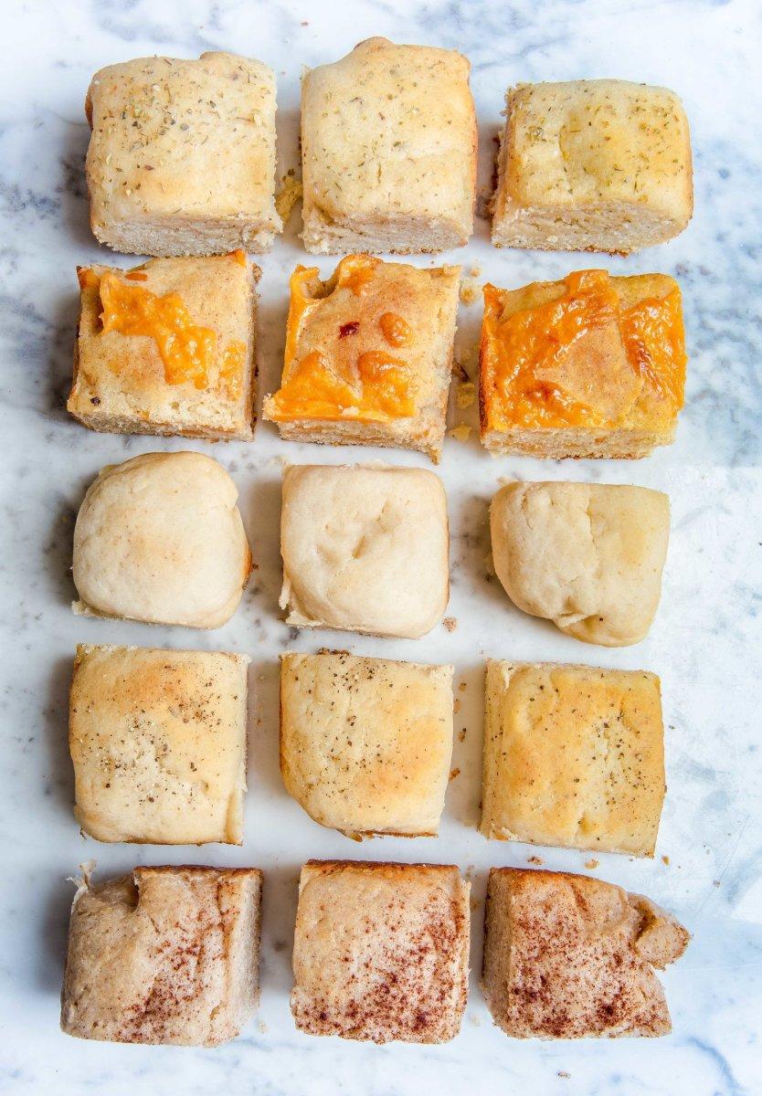 Gluten-Free Parker House Rolls