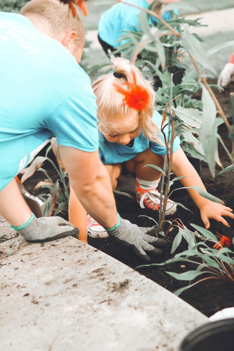 Gardening with the Children