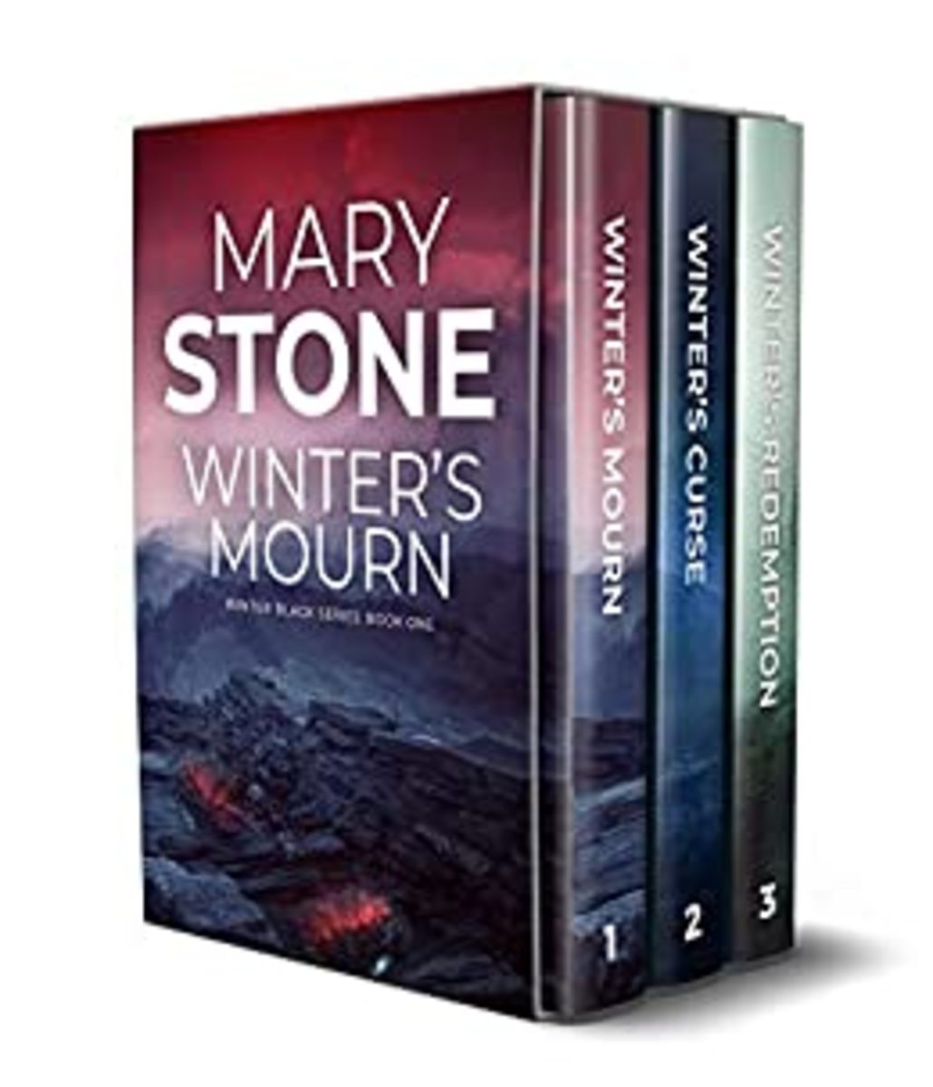 The first book collection of the Winter Black series