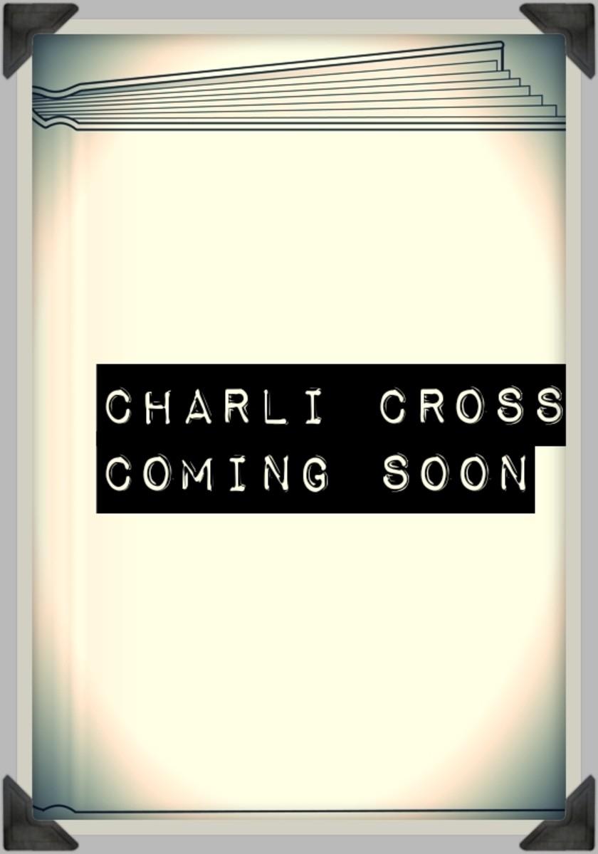 Charlie Cross series still pending
