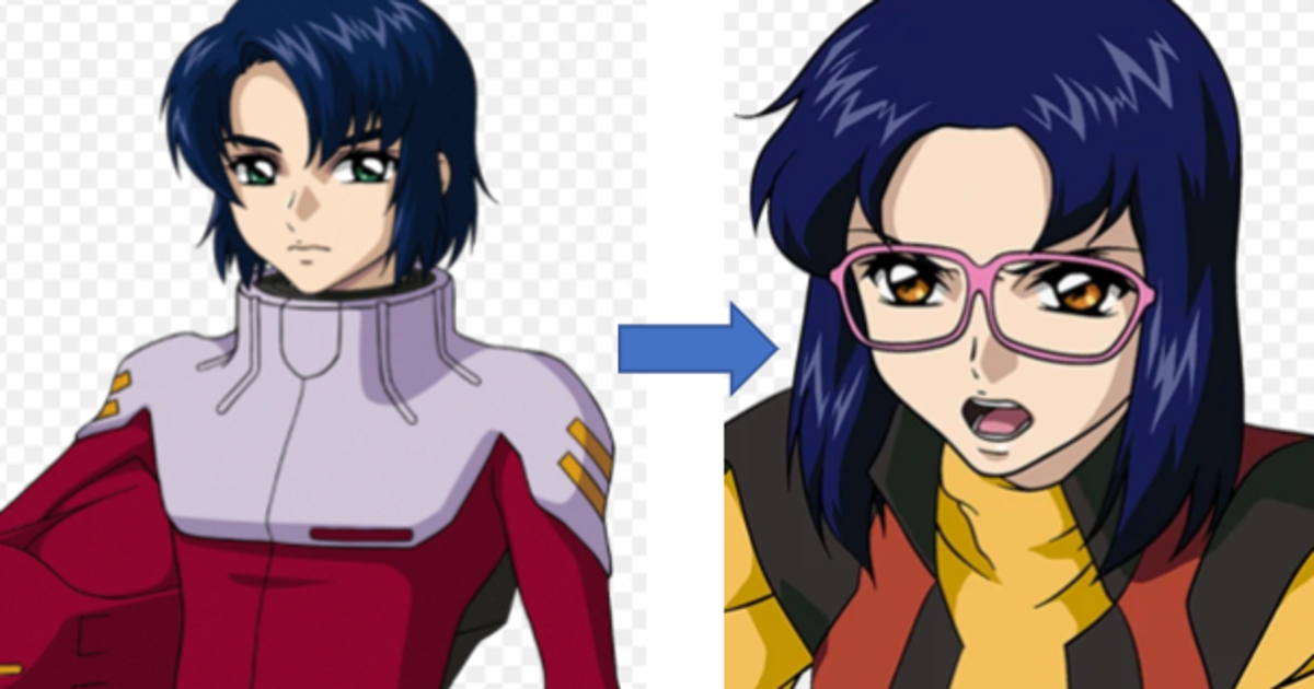 gundam-seed-characters-look-like-each-other