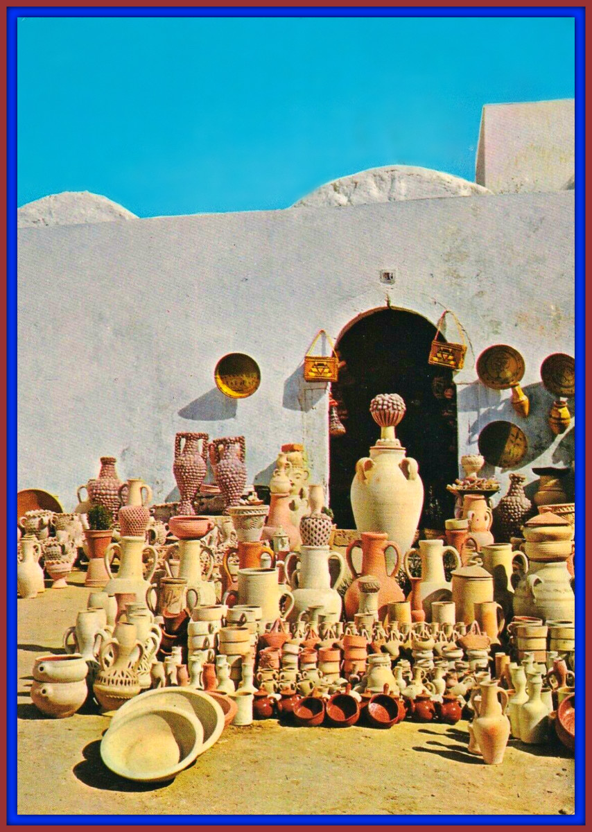 In the Nation of Tunisia today you can see the Shadow of Carthage in Everything, from the white washed walls of their homes, to the skilled workmanship of their arts and crafts it is Carthage speaking from the grave.
