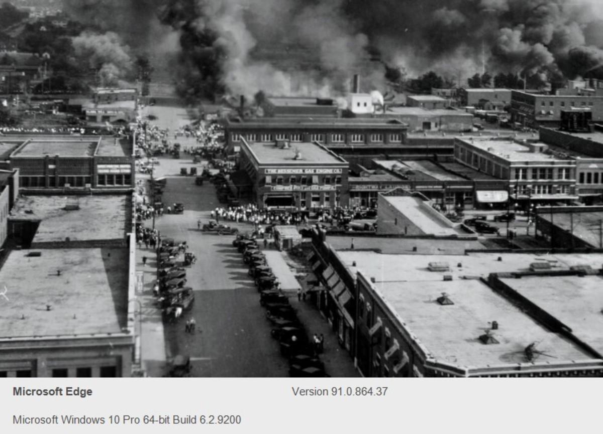 Race Riot: Blacks Slaughtered in Tulsa, OK., 1921