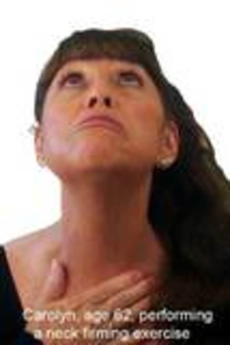 Chin and Neck Exercises - How To Stay Young Looking Naturally
