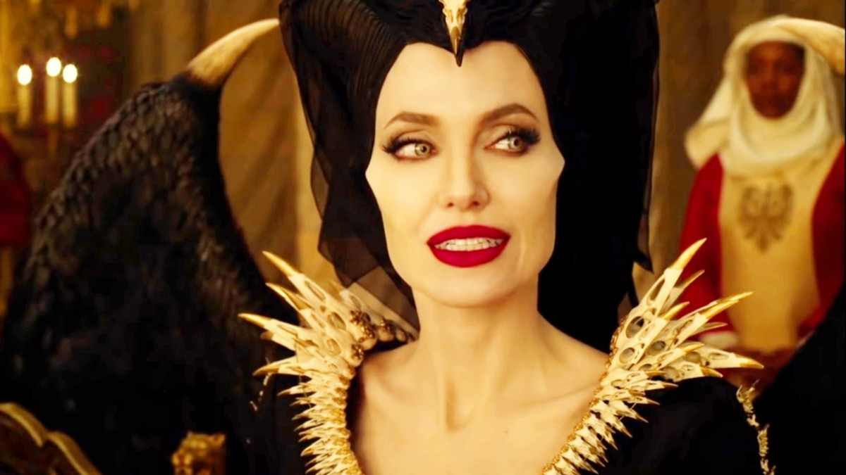 Maleficent also says to that queen that the people of your kingdom also came in my forest and stole my creature.