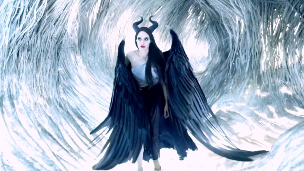 Maleficent wakes up.