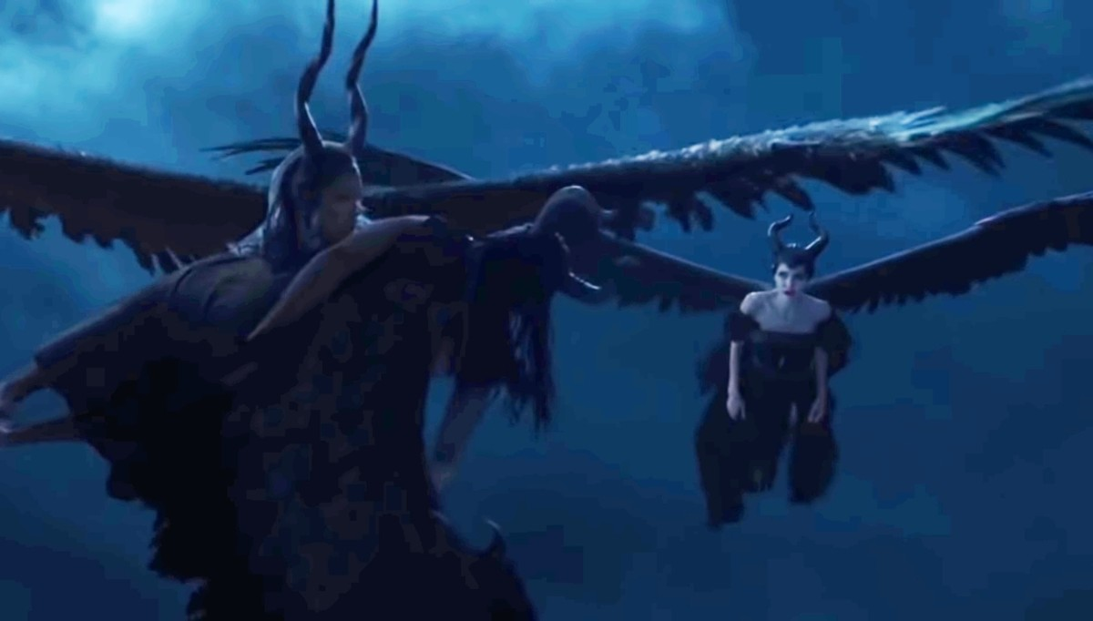 Maleficent takes Borra's companion to the cave he was dead.