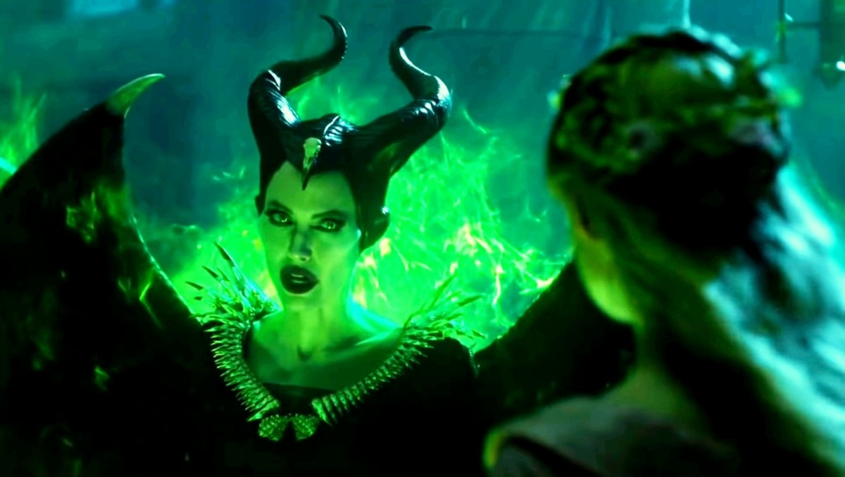Maleficent says that princess Aurora you are also saying this, I don't give any curse.