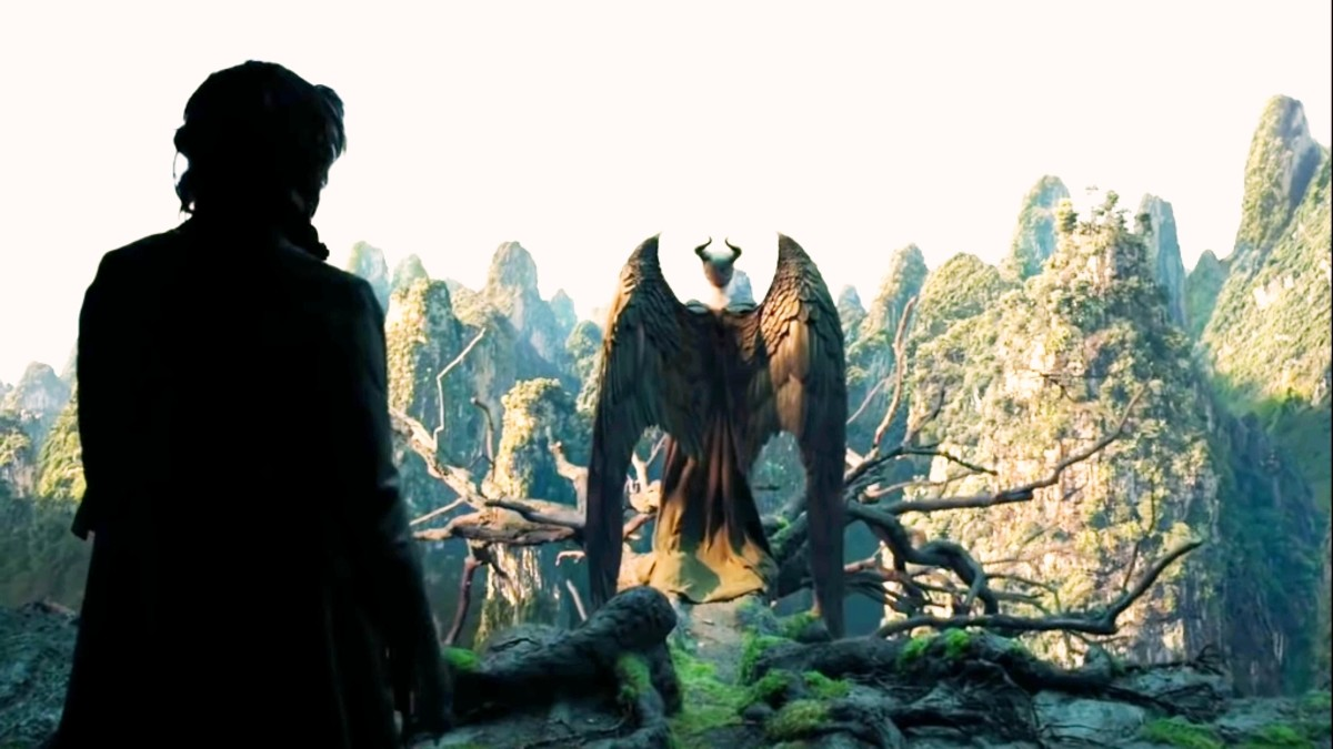 crow of Maleficent means Diaval was also seeing all this. He goes and tells everything to Maleficent.