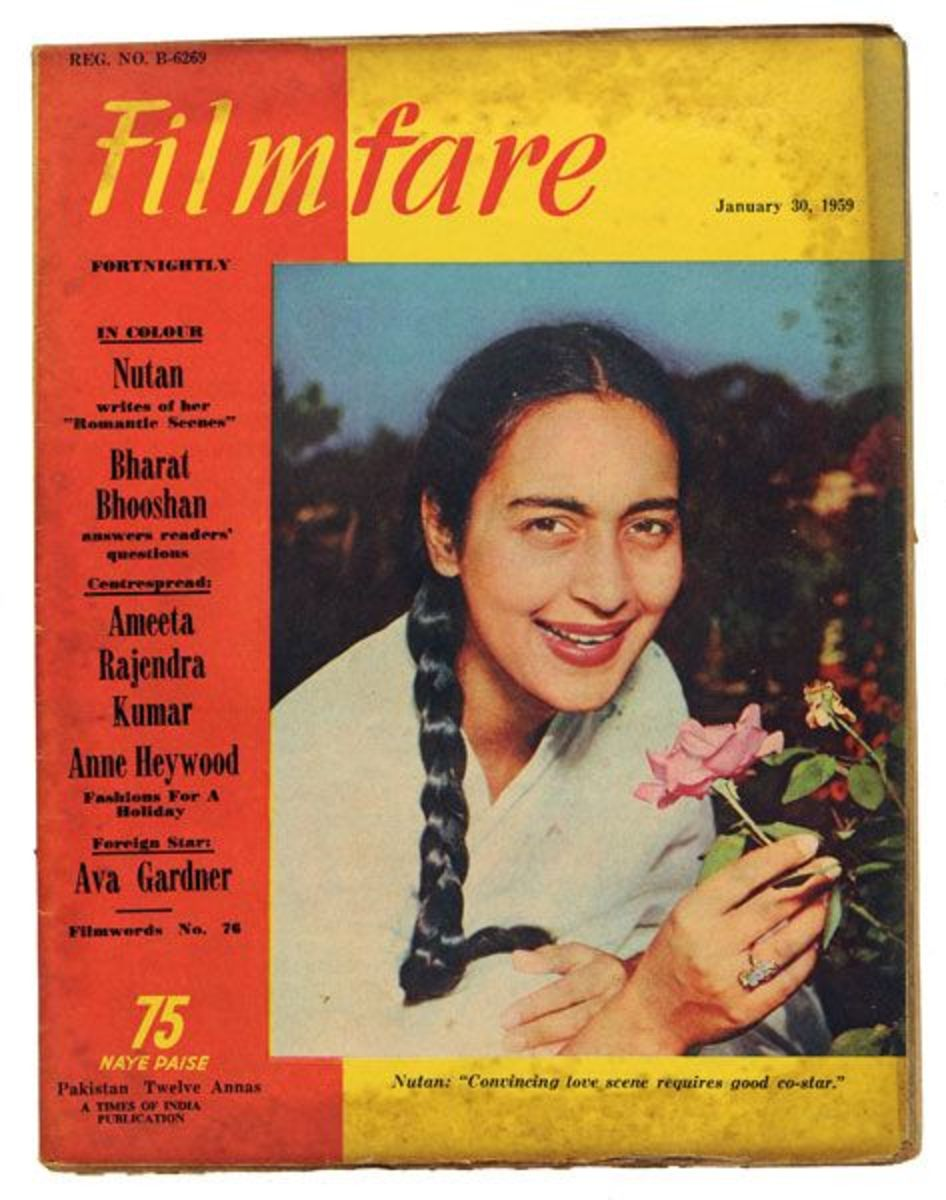 Her photo were published in Filmfare Magazine on January 30, 1959.