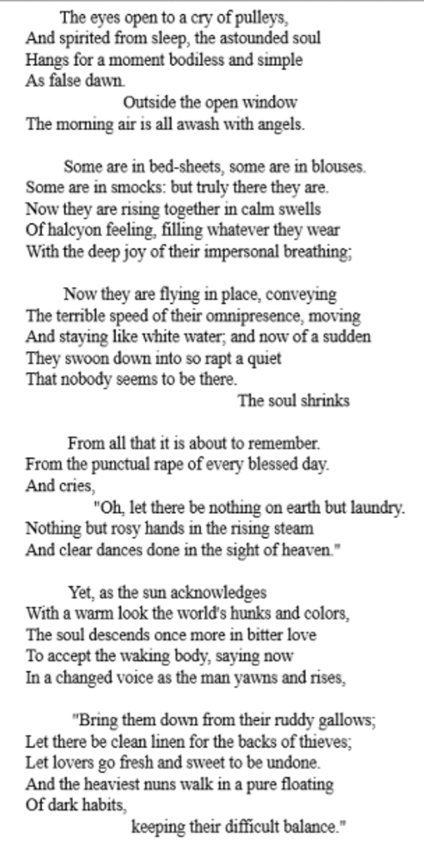 analysis-of-poem-love-calls-us-to-the-things-of-this-world-by-richard-wilbur