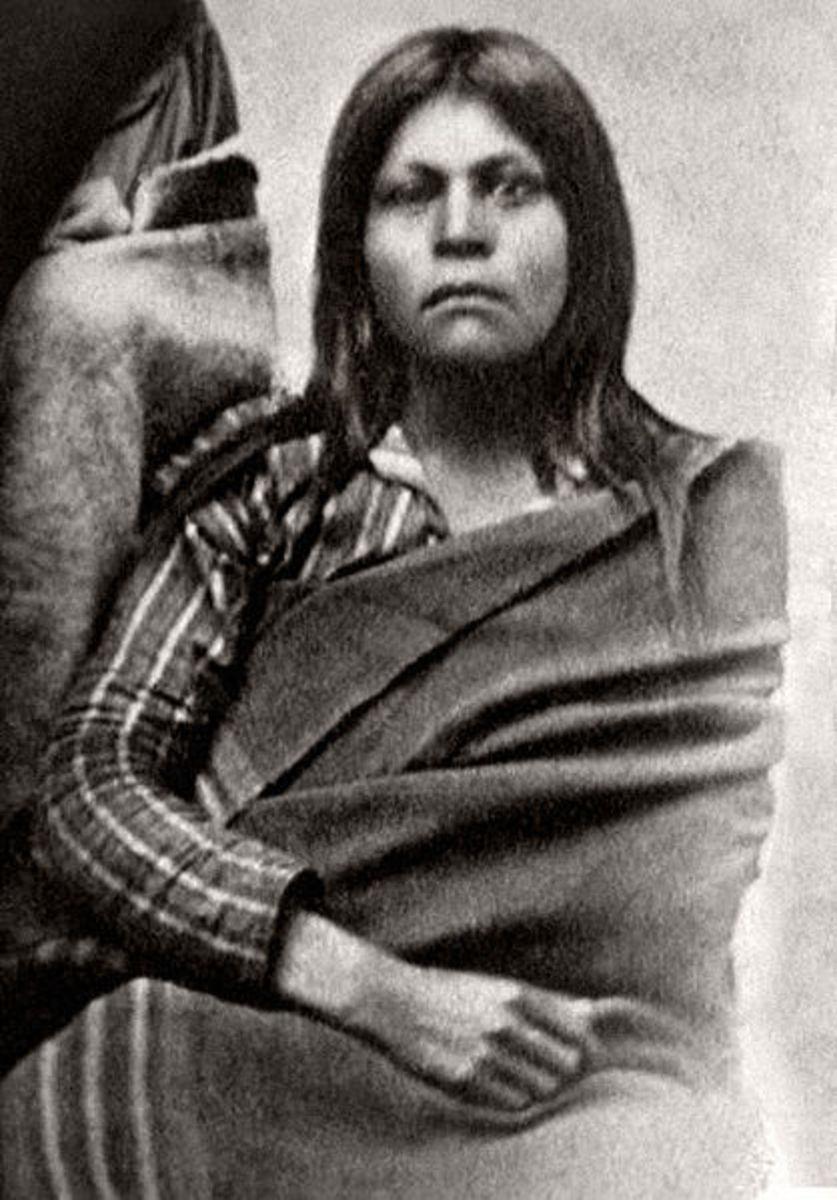"Juana Maria known as the ""Lone Woman of San Nicoleas Island"""