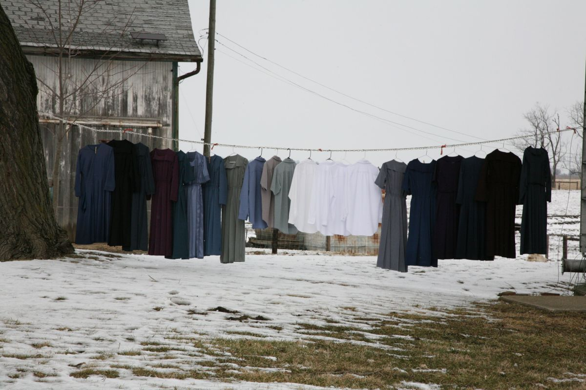 The hangers make so much more sense than clothes pins...International Clothesline Week. 7th-14th--wikimedia commons