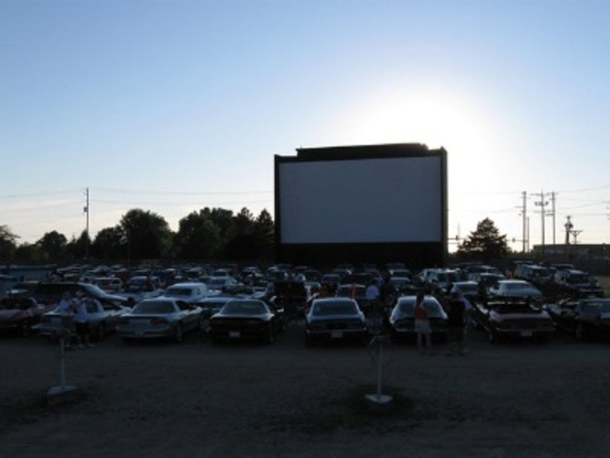 The drive-in theater near where I grew up! I love this place!!
