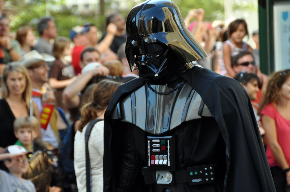 Even Darth Vader was a father! Universal Father's Week. 15th-21st--wikimedia commons