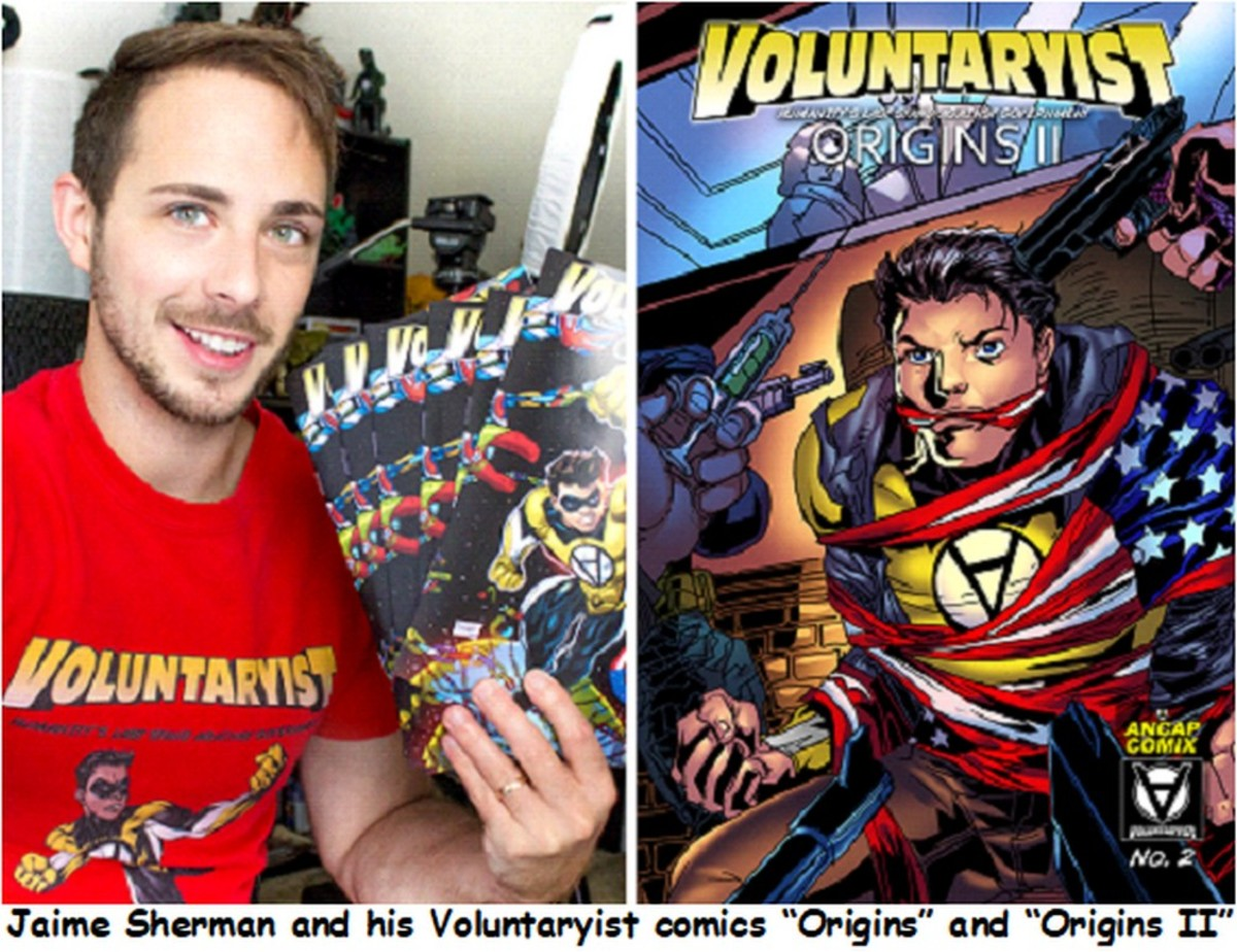 Voluntaryist Superhero Returns to Fight Statist Evil