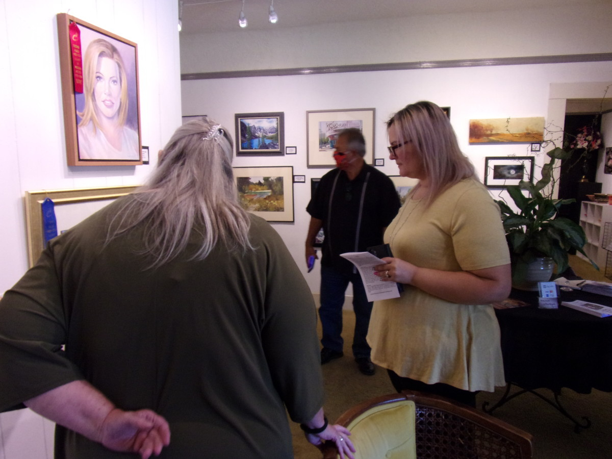 Reception for SWA Annual Show May 2021