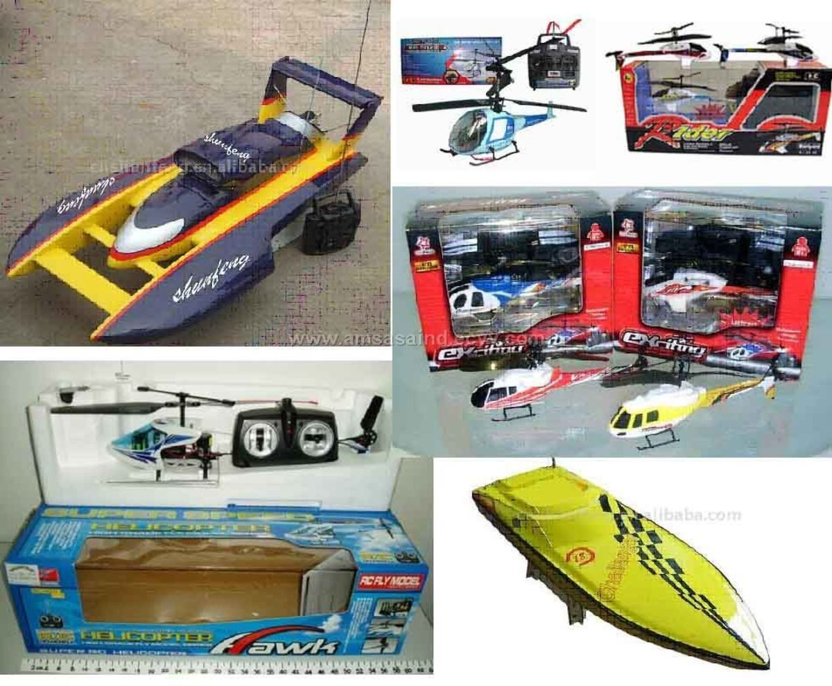 RC cars, RC planes, RC helicopters, RC boats for sale