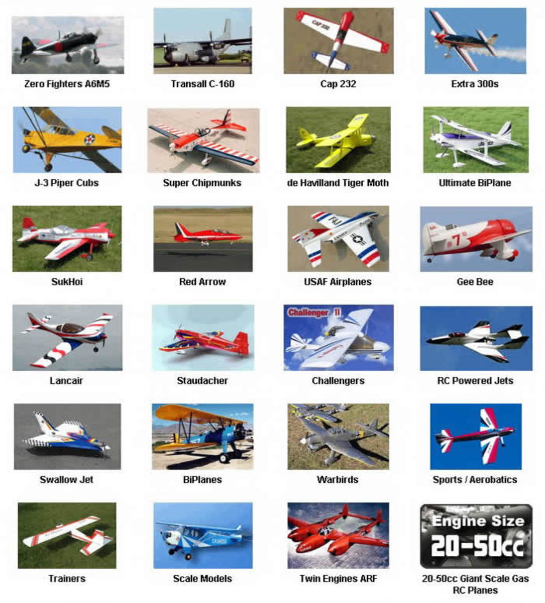 Latest RC planes - 2010 edition