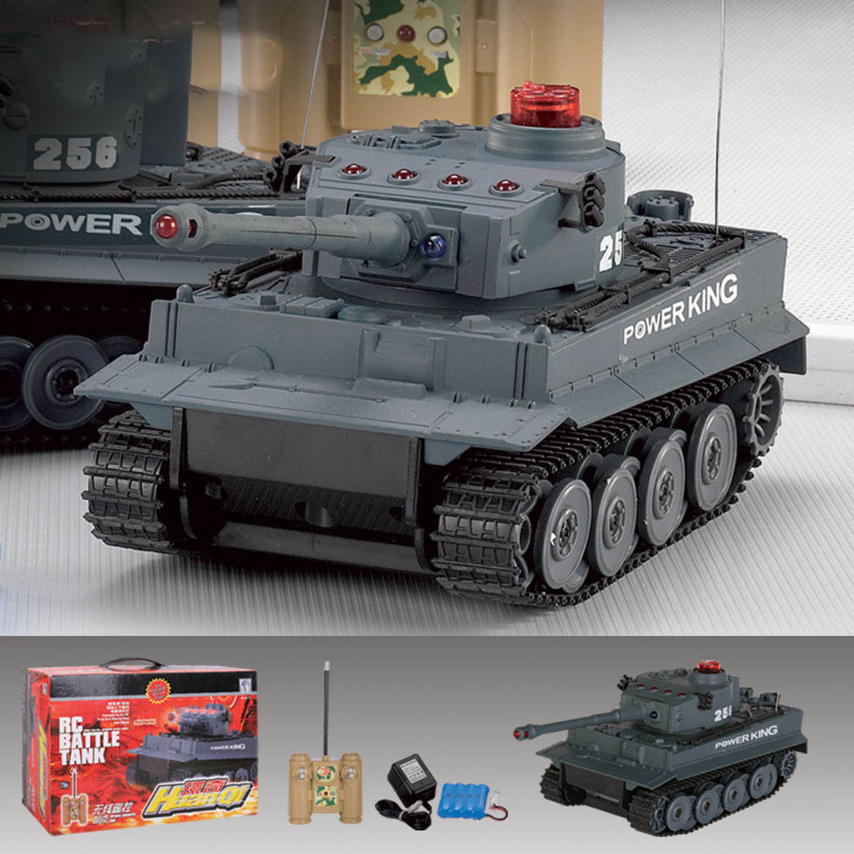 Radio controlled RC tanks