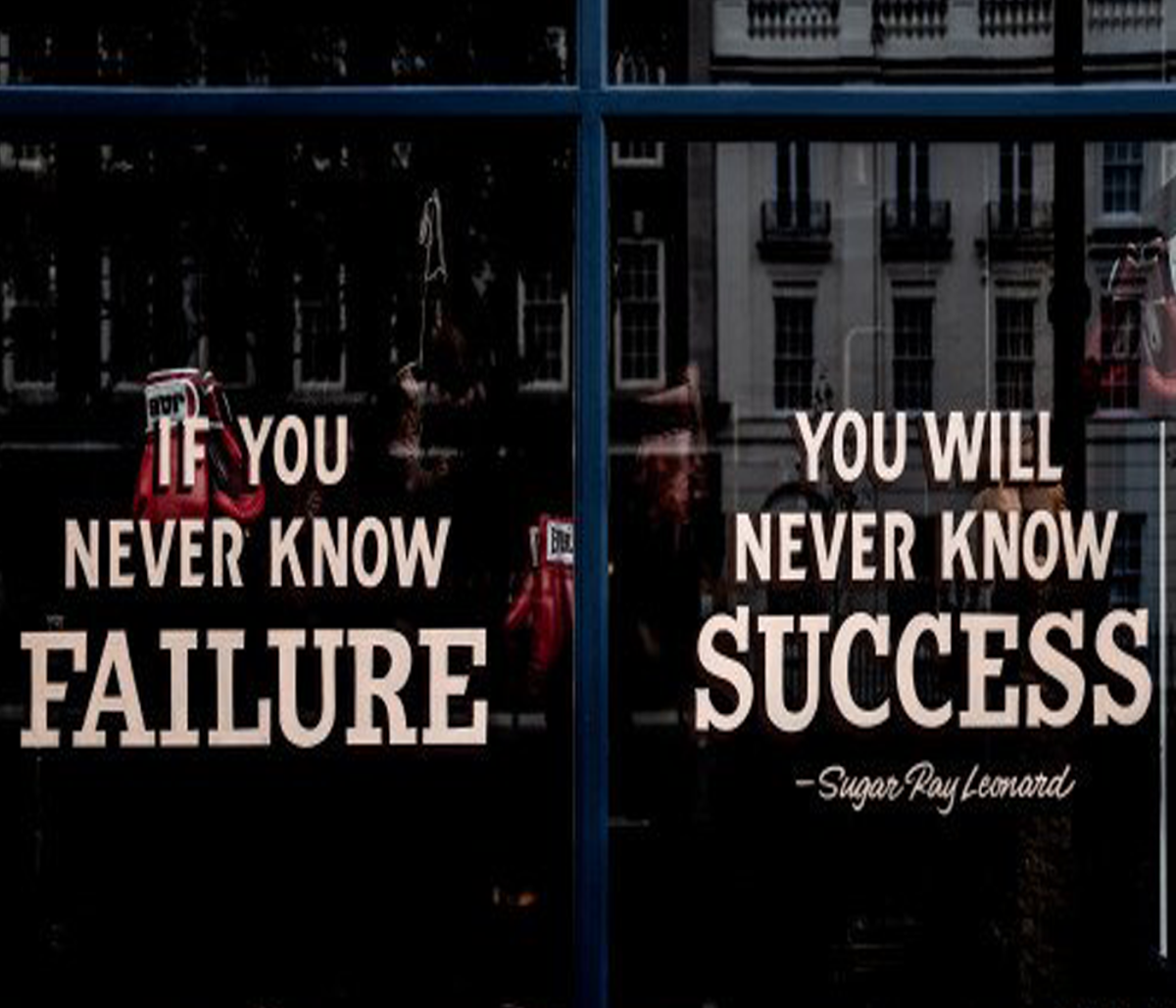 Failure Is Not Your Fault nor Is It Your Fate