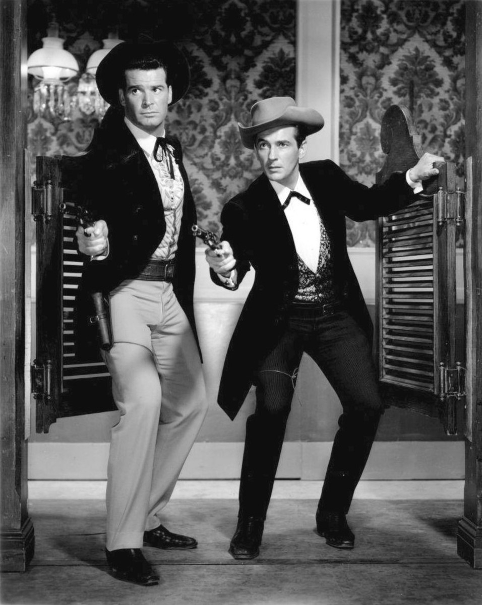 Westerns were all about clean-cut white guys fighting evil.