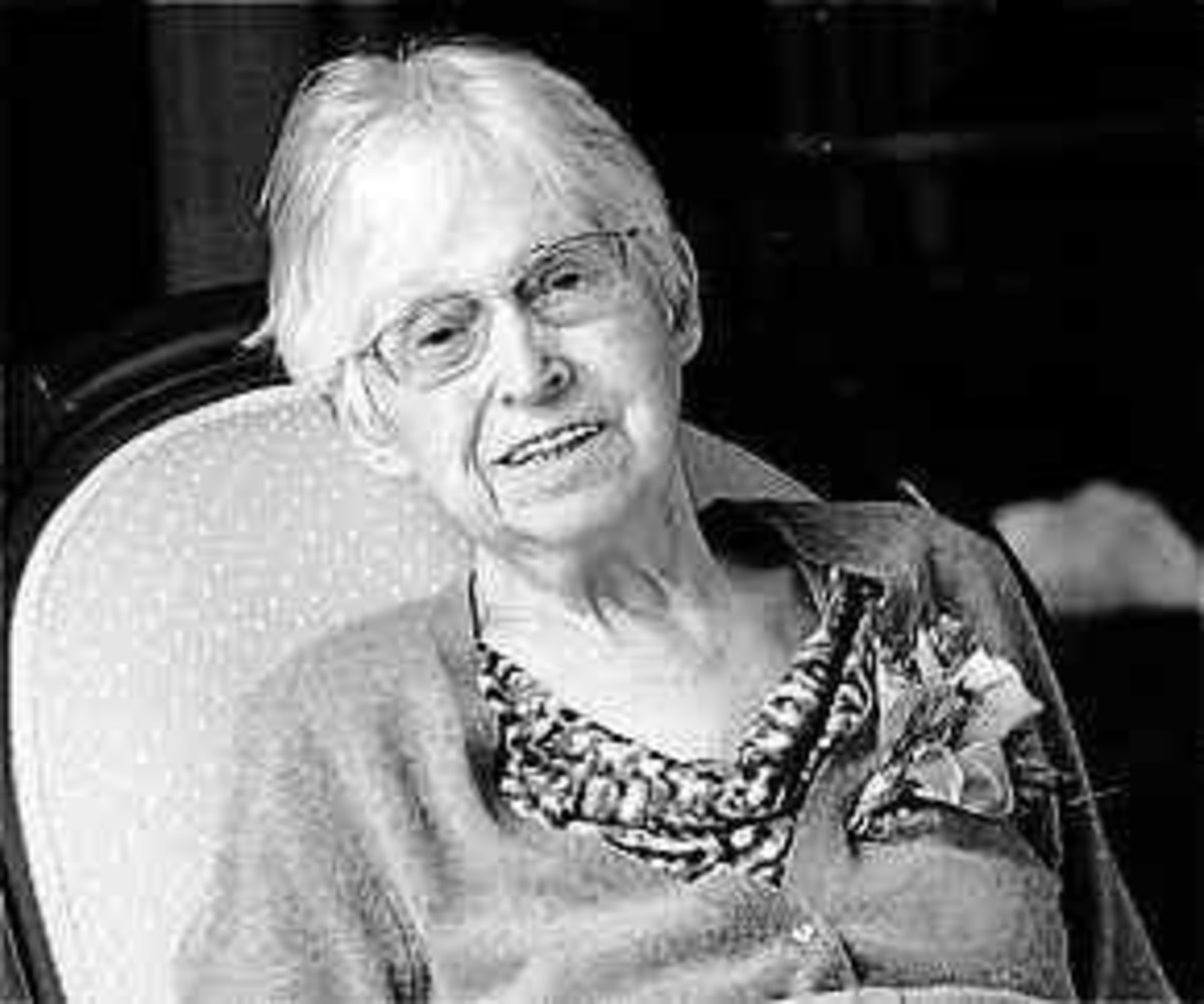 Marjorie Sykes in her old age