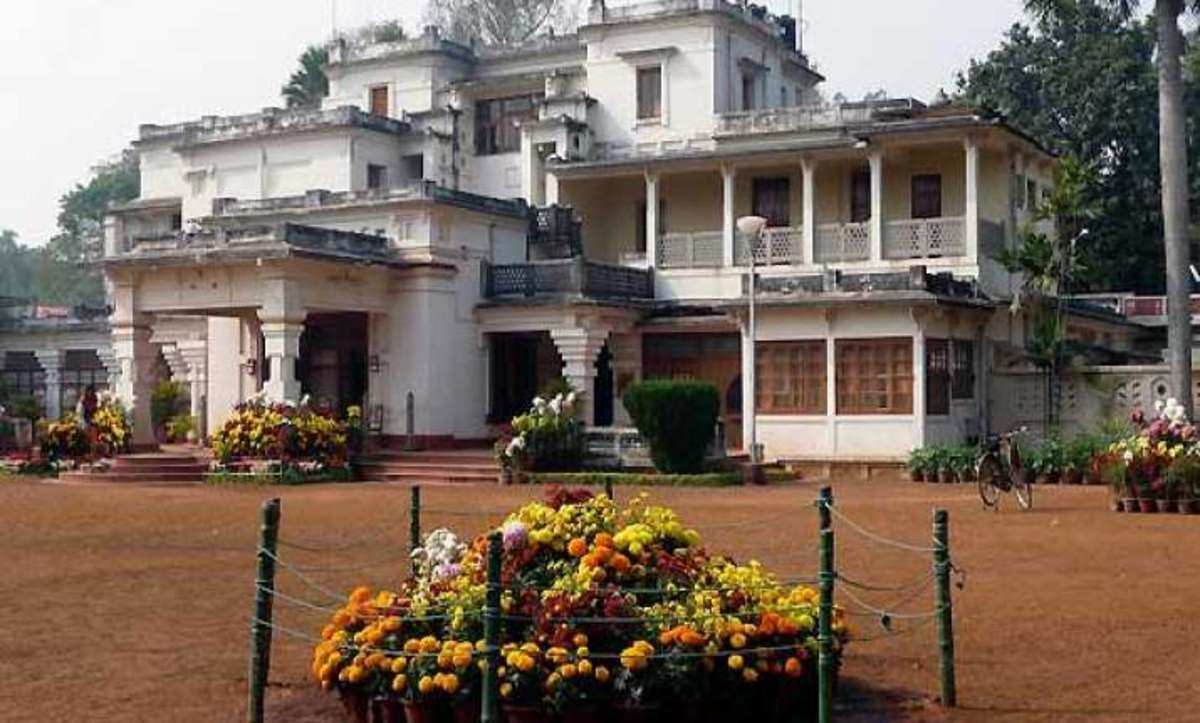 Bishsha Bharati University: the old building