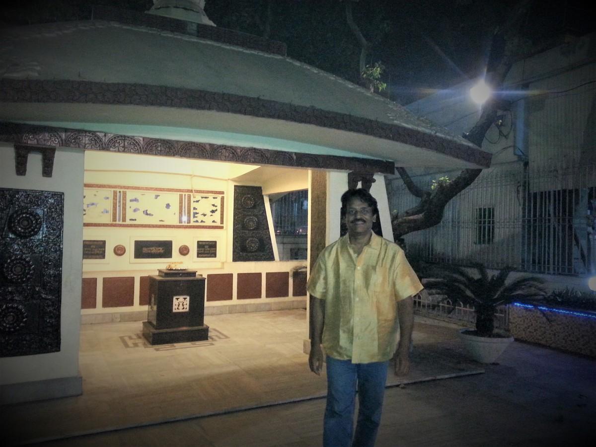 I am at the location of Rabindranath's crimination, Nimtala, Kolkata