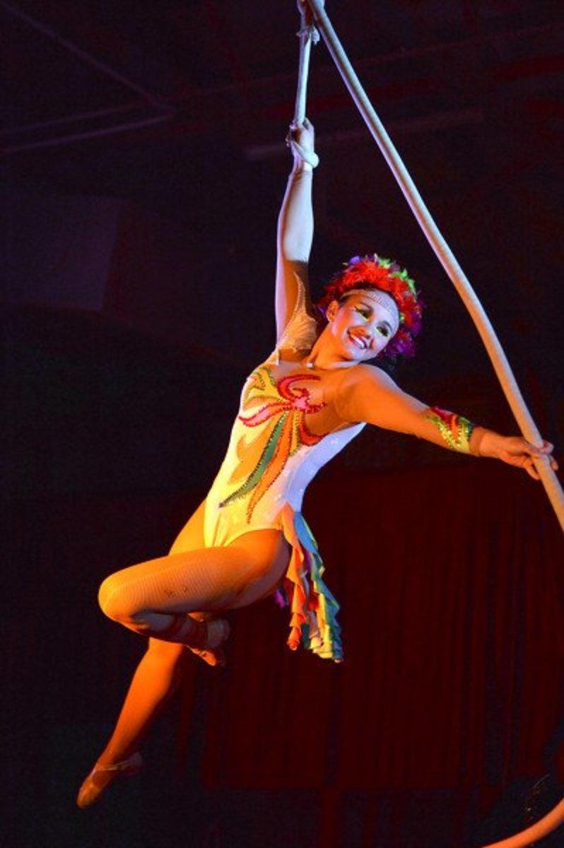 Aerials at All American Circus